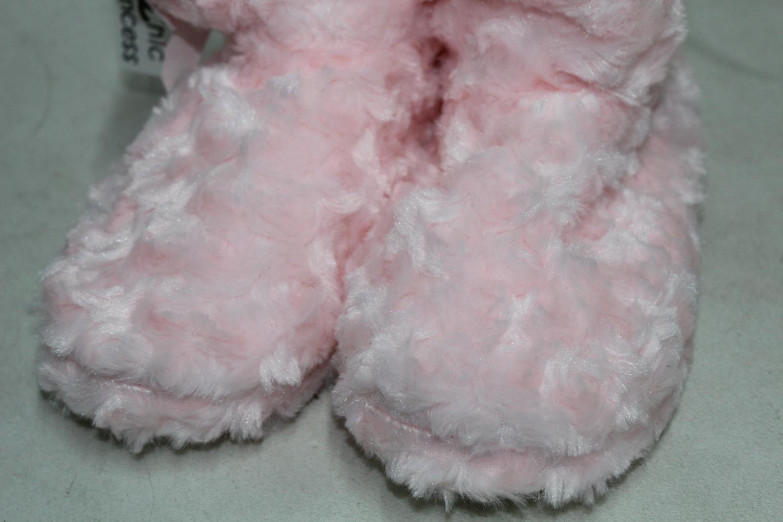 CHIC PRINCESS Girls Pink Fluffy Winter Warm Slipper Shoe Boots UK5 EU38 BNWT 10