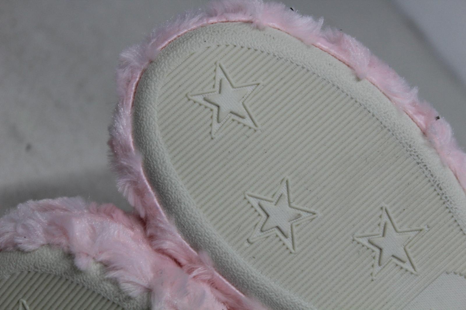 CHIC PRINCESS Girls Pink Fluffy Winter Warm Slipper Shoe Boots UK5 EU38 BNWT 11