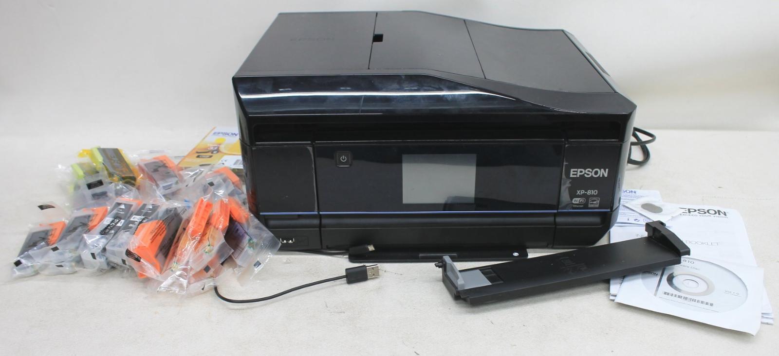 EPSON-XP-810-Expression-Premium-1-en-4-Multifonction-Wi-Fi-Imprimante-Photo miniature 12
