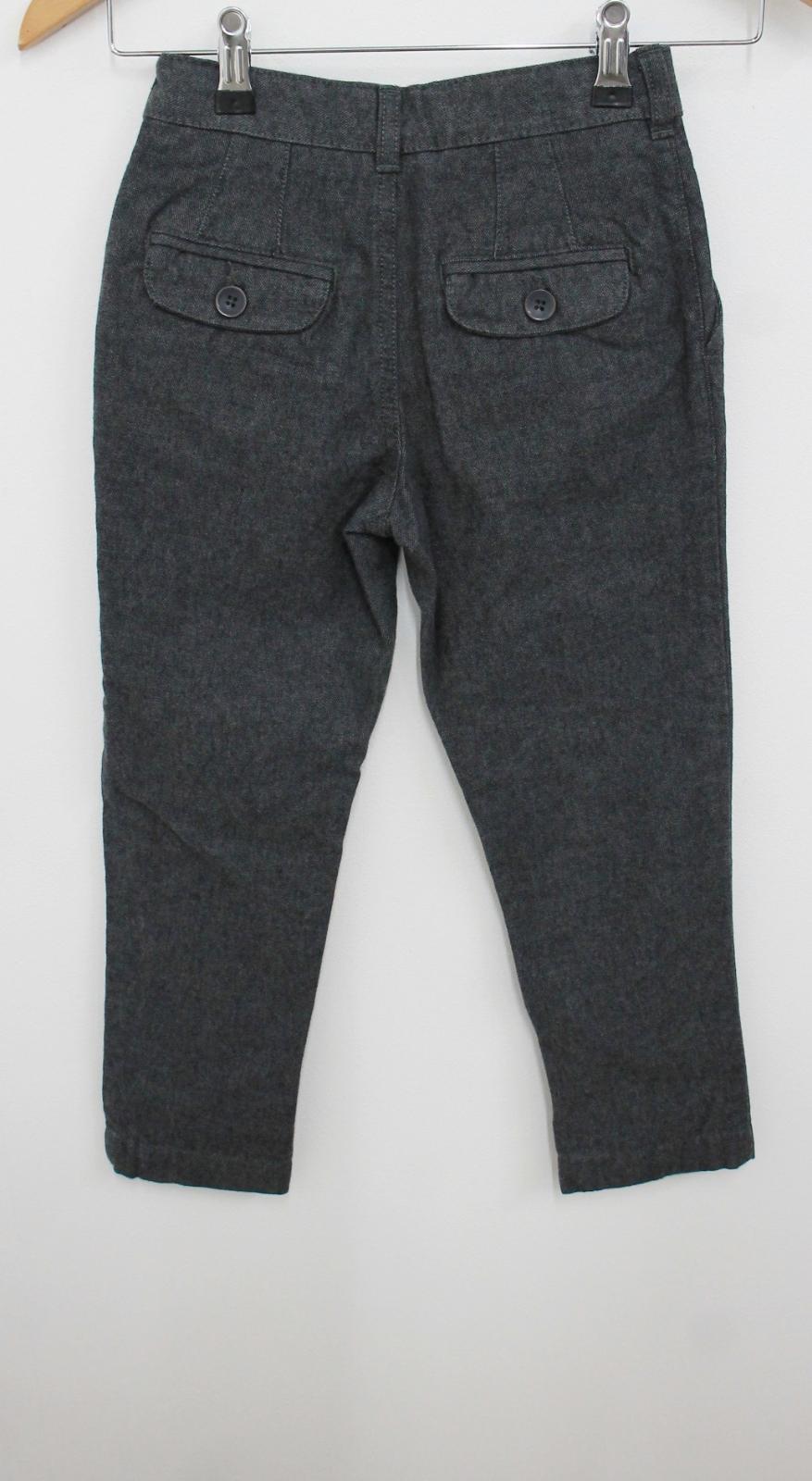 JOHN LEWIS Boy's Dark Grey Elastic Waist Skinny Fit Cotton Trousers 5 Yrs. NEW 3