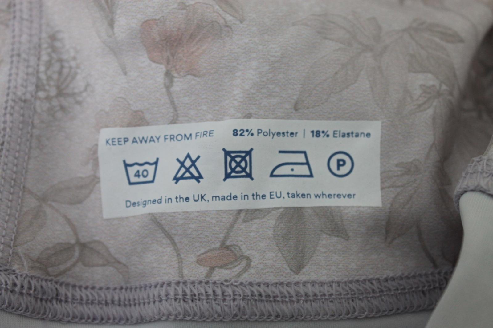 HARVEY & MILLS Ladies Secret Garden Pink & Nude Leggings Size M UK10-12 NEW 7