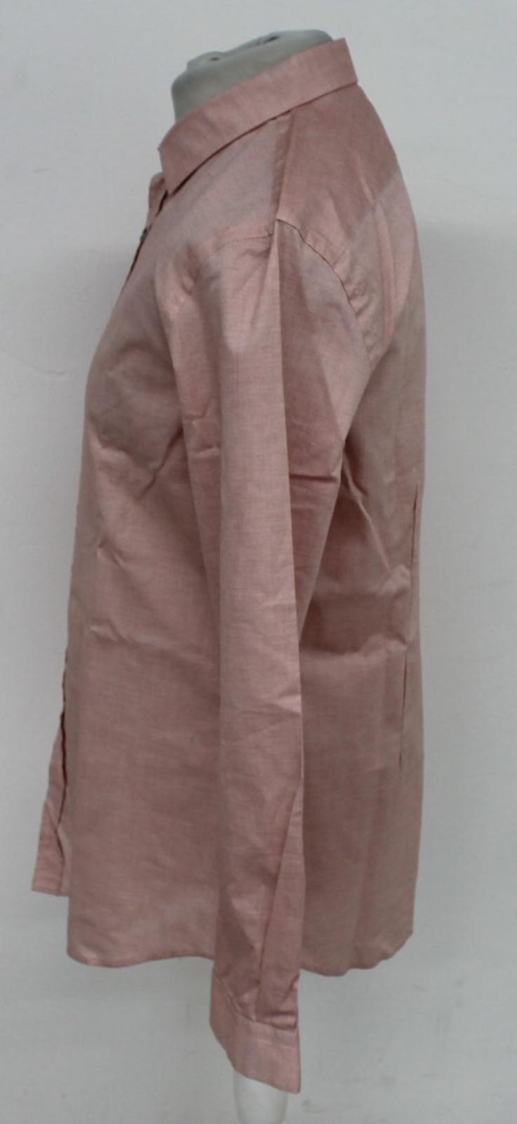 Paul-Smith-Para-Hombre-Rojo-Y-Blanco-Micro-Grafico-Impresion-a-medida-con-Camisa-Talla-17-43-Nuevo miniatura 4
